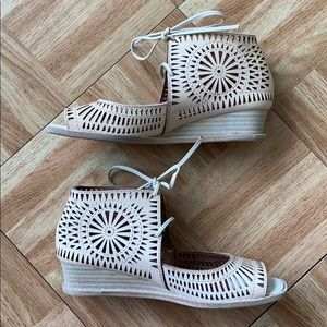 Jeffrey Campbell Rayos Wedge Sandals